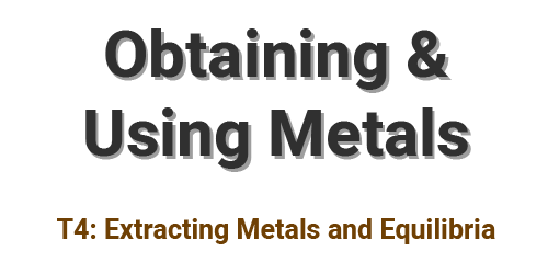 Obtaining and Using Metals