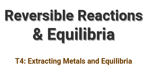 Reversible Reactions and Equilibria